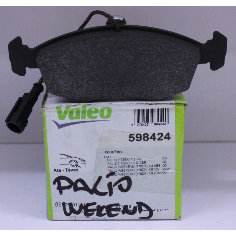 ÖN BALATA PALIO WEEKEND 96=> ALBEA 01=> DOBLO 00=> (FİŞLİ) VALEO
